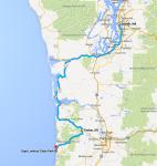 Day 1 Route (tentative)
