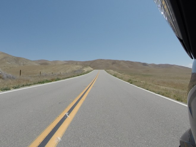 Hwy 58 near Carizzo Plain
