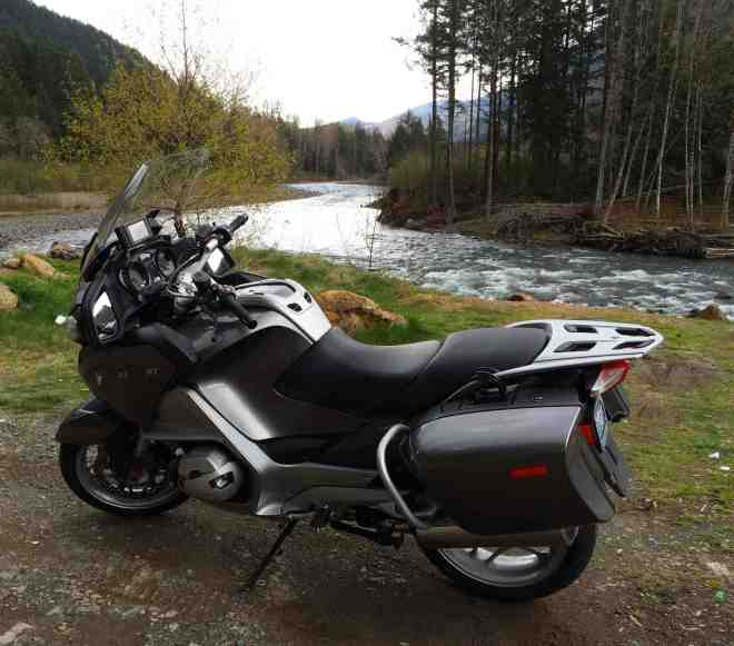 White River Pic of Bike