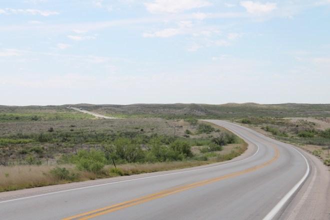 Hwy 285 south of Carlsbad, NM