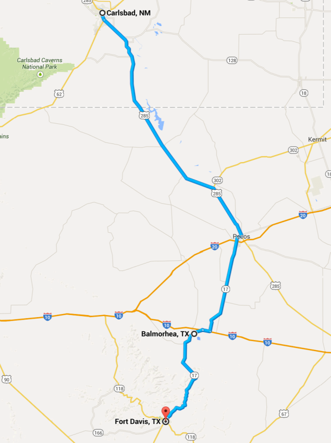 Day 20 Route
