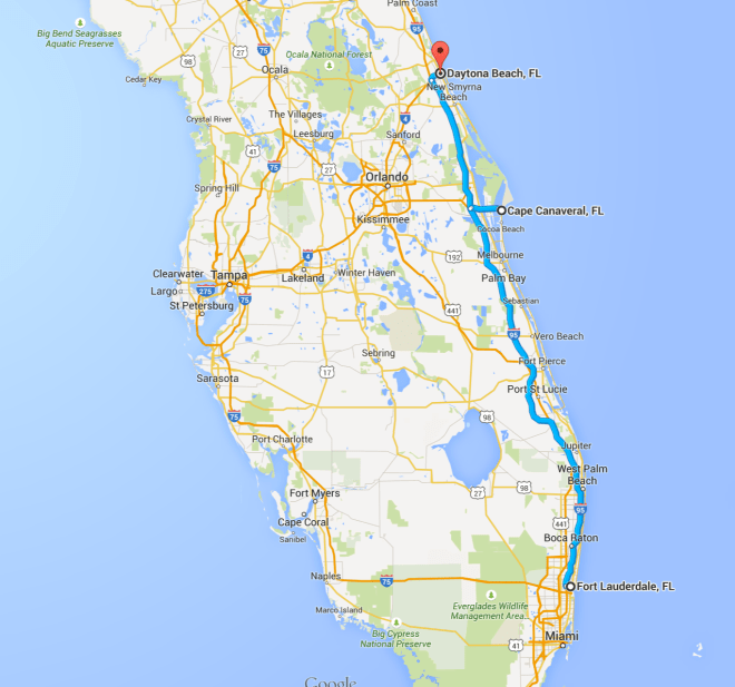 Day 38 Route