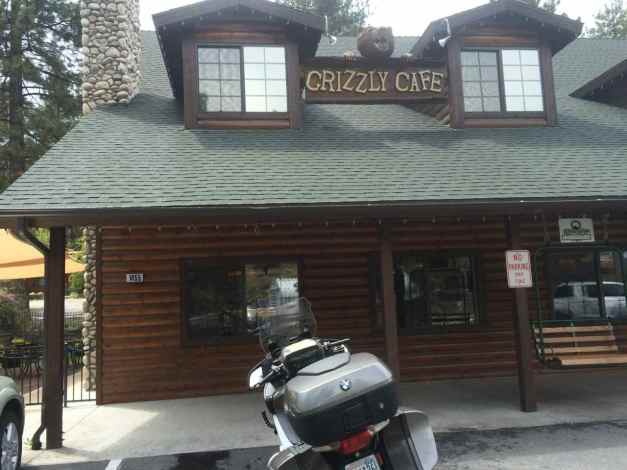 Grizzly Cafe in Wrightwood, CA