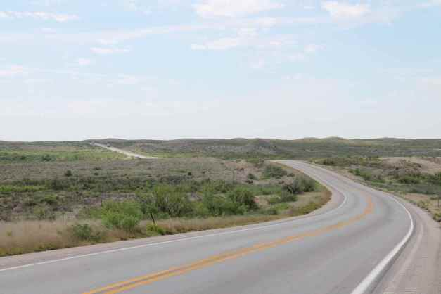 Hwy 285 south of Carlsbad, NM