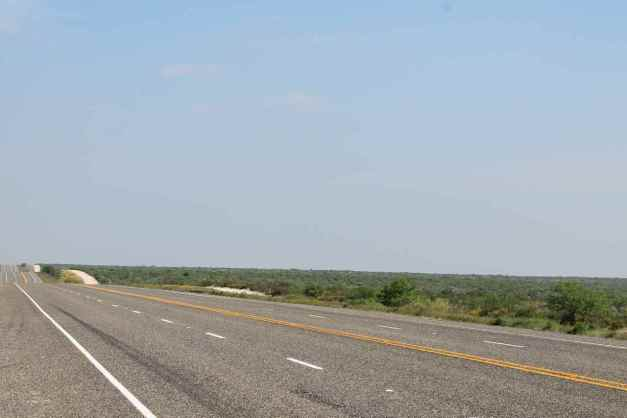 Hwy 90 east of Marathon, TX
