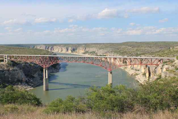 Pecos River Bridge on Hwy 90