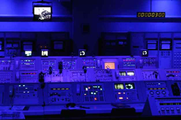 Apollo VIII Control Room Exhibit