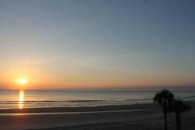Sunrise over Daytona Beach, Florida