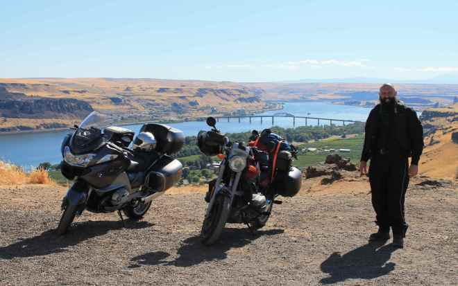 Columbia River and the Biggs Rapid Bridge
