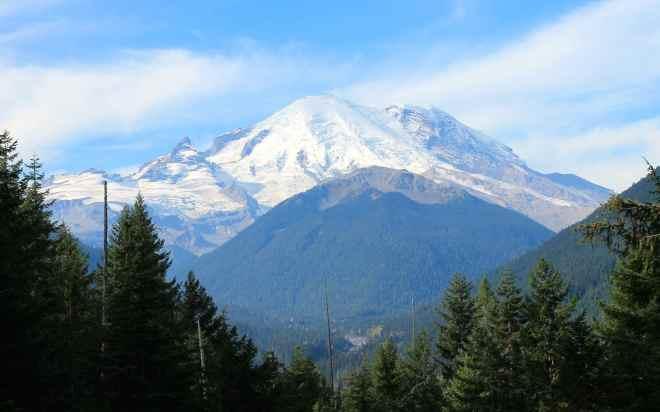 Mt Rainier, WA taken from Hwy 410