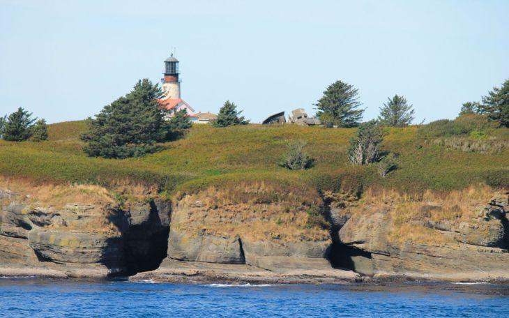 lighthouse closeup