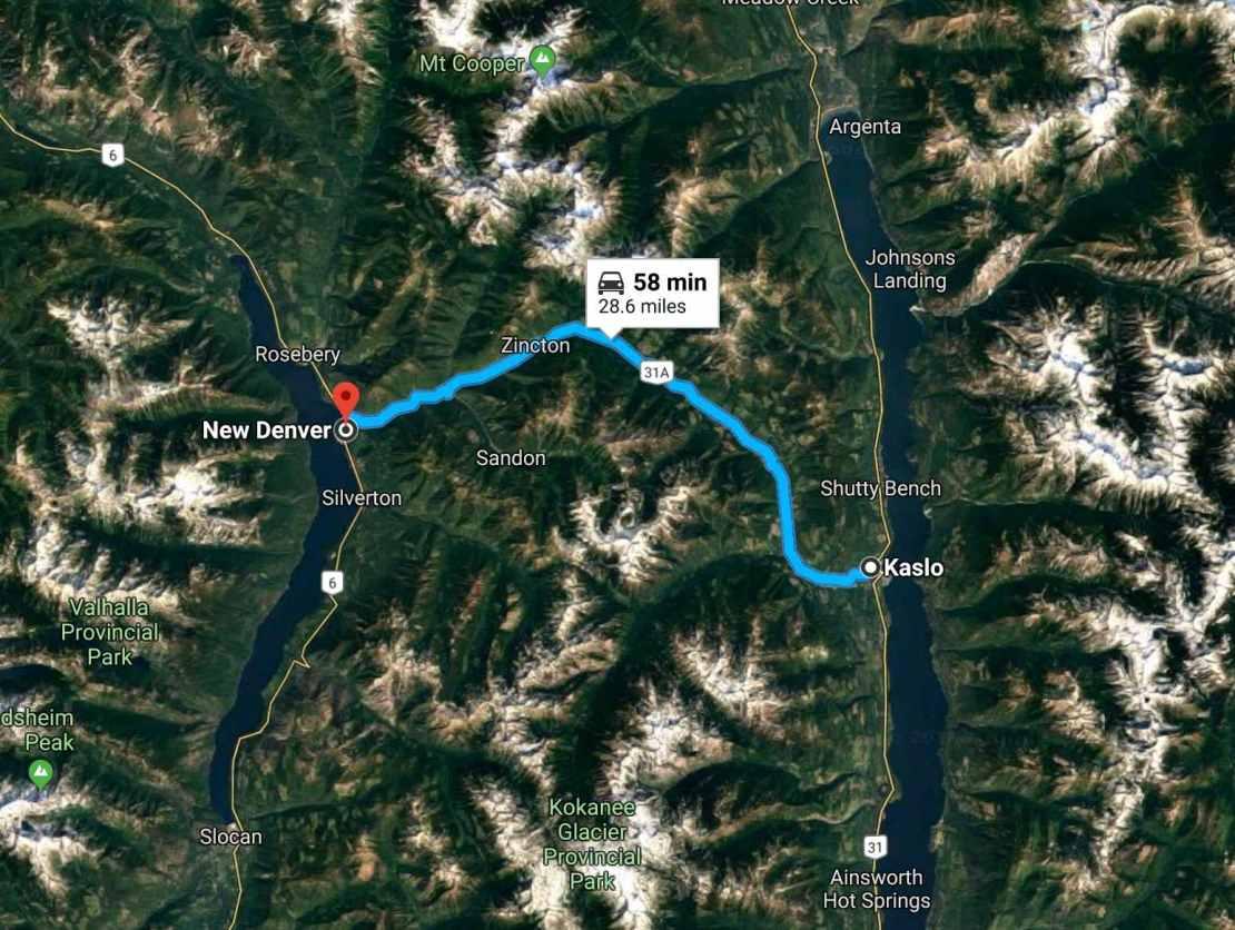 route 31A closeup