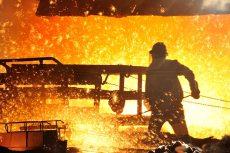 produzione acciaio