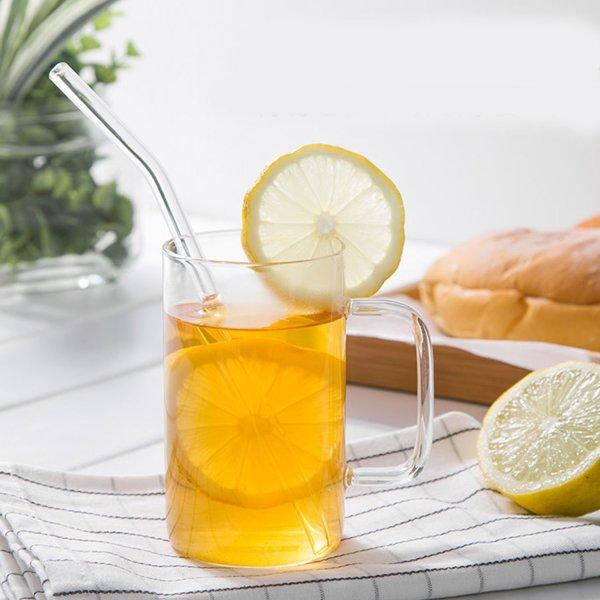 Glass Drinking Straws Set