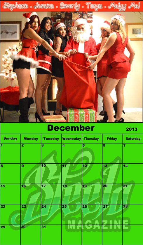 December 2013 calendar 1