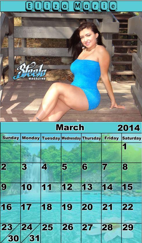 March 2014 Calendar - Steelo Magazine