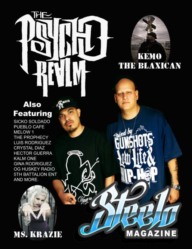 page 1 steelo cover psycho realm