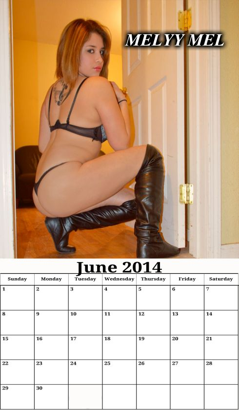 June 2014 calendar Melyy Mel