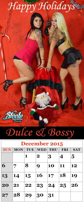 December 2015 Calendar Dulce - Justina
