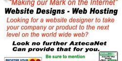 AztecaNet Website Designs
