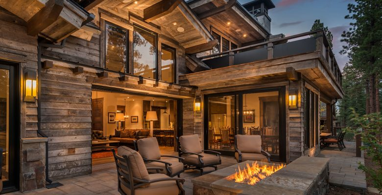 Back Patio Deck | Steel Partners Lighting Rustic Lighting Outfitters USA