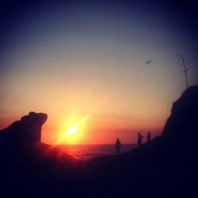 Laguna Beach with my family