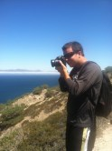 snapping photos of the Channel Islands