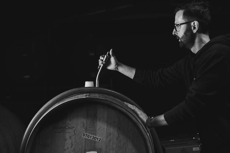 Brad Atkins. Winemaker Steels Gate