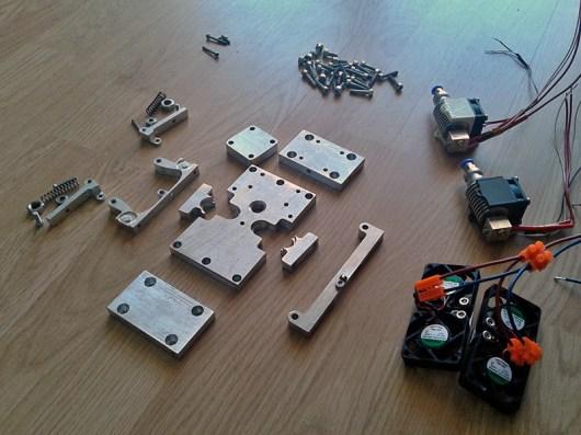 3d printer head assembling 1