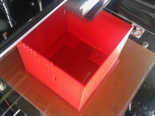 CNC enclosure printing