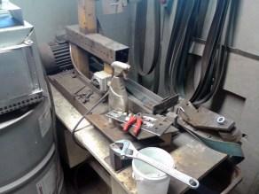 assembling mechanic grinder mounting 1