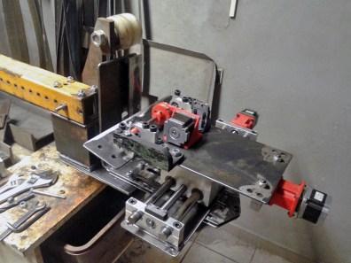 assembling mechanic grinder mounting 4