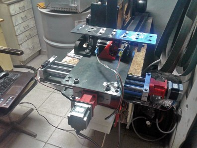 1 CNC Grinder Jig without shields