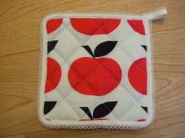 Pot holder - finished
