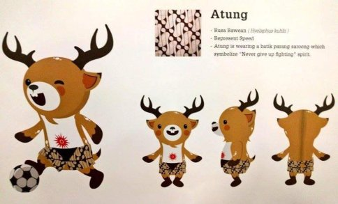 Maskot Asian Games Si Atung