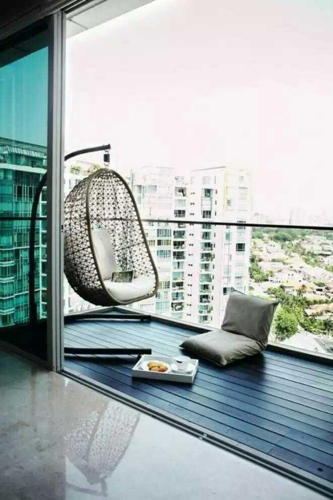 Inspirasi balkon rumah minimalis