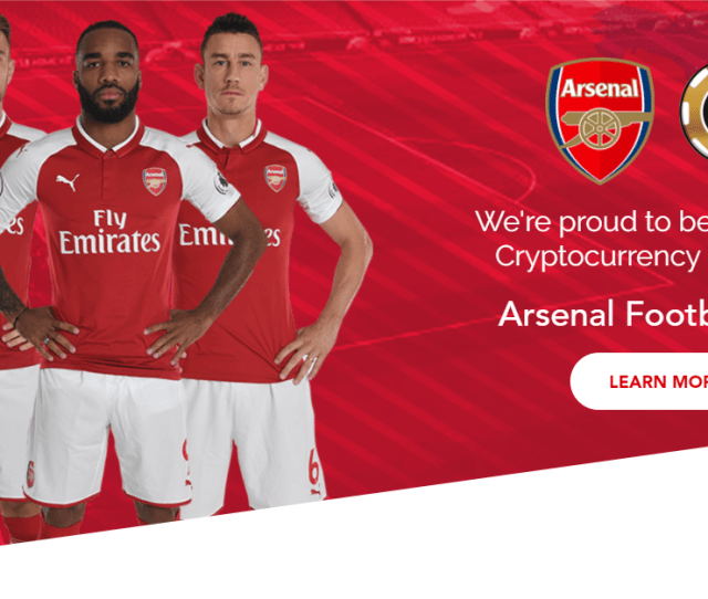Arsenal Signs Sponsorship Deal With Cashbet Cryptocurrency And Ico