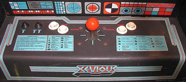 Retro Arcade Xevious Namco 1982 Steemit