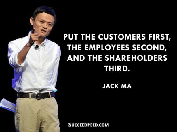 Image result for jack ma customer quote