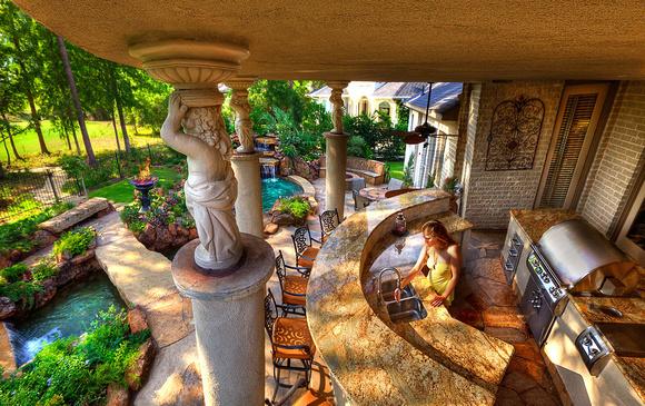 Photo Inspiration For A Beautiful Backyard | steen luxury ... on Luxury Backyard Design  id=99007