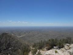 Horizon from higher altitude.
