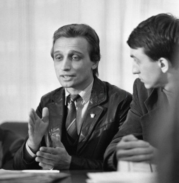Алексей Ситников в молодости