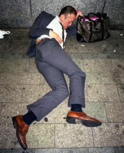 Photo of Publicly intoxicated man