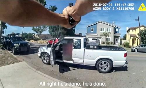 Anaheim Police Terminate Fleering Motorist