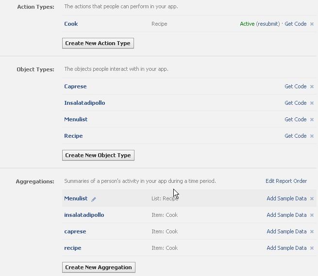 Tutorial Open Graph di Facebook - Aggregazioni (1/4)