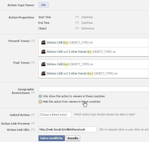 Facebook Open Graph Tutorial - Built-in Like  (2/6)