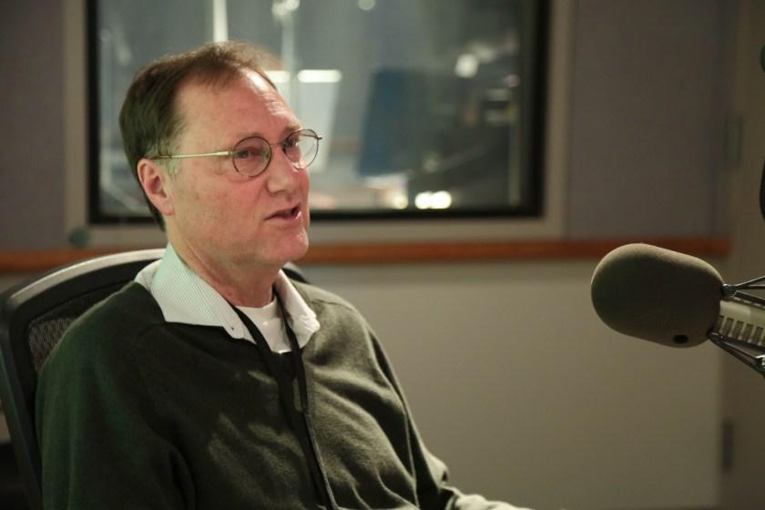 Jeff Mapes berichtet für OPB in Portland über politische Themen, darunter auch den Präsidentschaftswahlkampf (Foto: Bradley Parks)