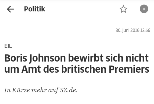 (Screenshot: SZ-App)