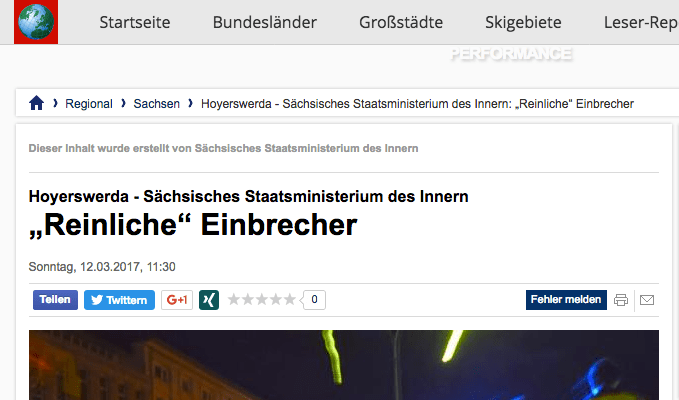 (Screenshot: focus.de)