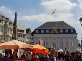 Das Bonner Rathaus in Rokoko Stil